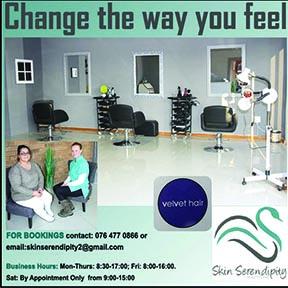 Skin Serendipity & Velvet Hair 076-477-0866