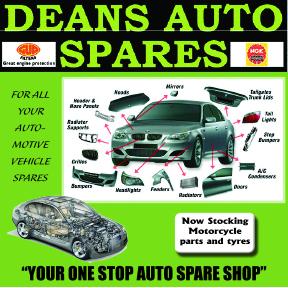 Deans Auto Spares 034-218-2846