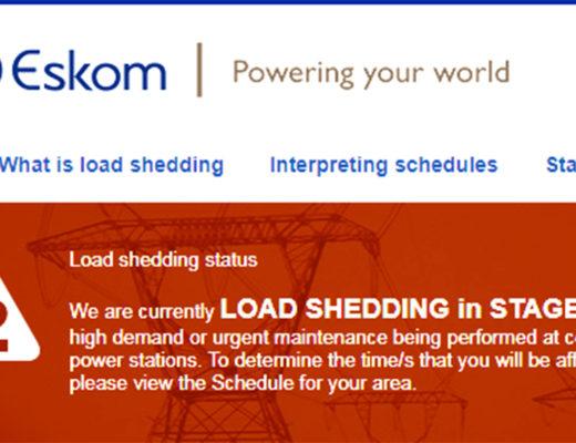 Eskom Load Shedding Stage 2: Eskom Rolls Out Stage 2 Black Outs