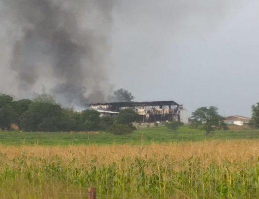Orange Grove Dairy on fire | Northern KZN Courier