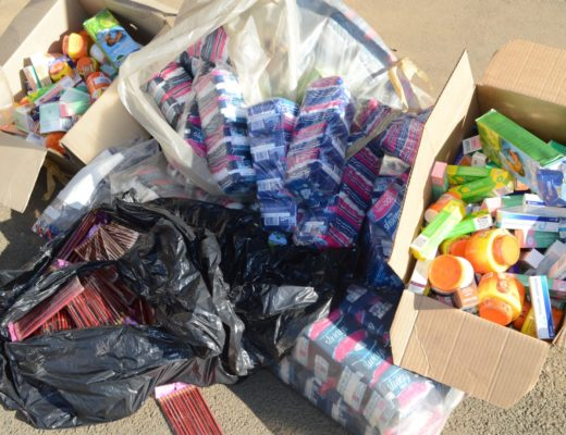 Raid yields counterfeit goods worth thousands of Rands | Northern