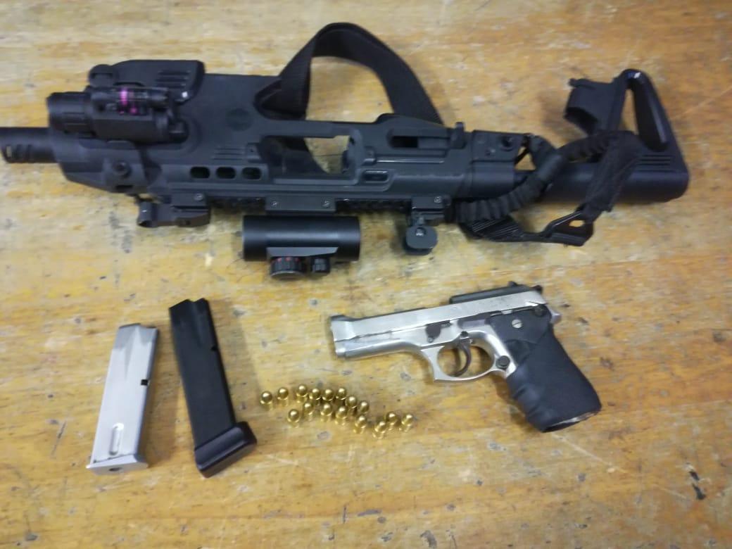 Police seize hundreds of illegal firearms, ammunition
