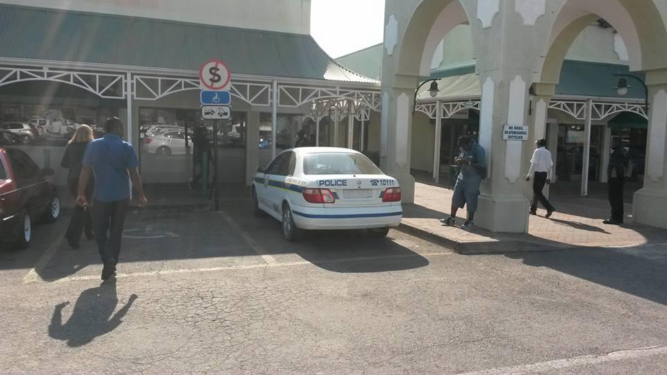 Unlicensed cop car for the disabled? | Ladysmith Gazette