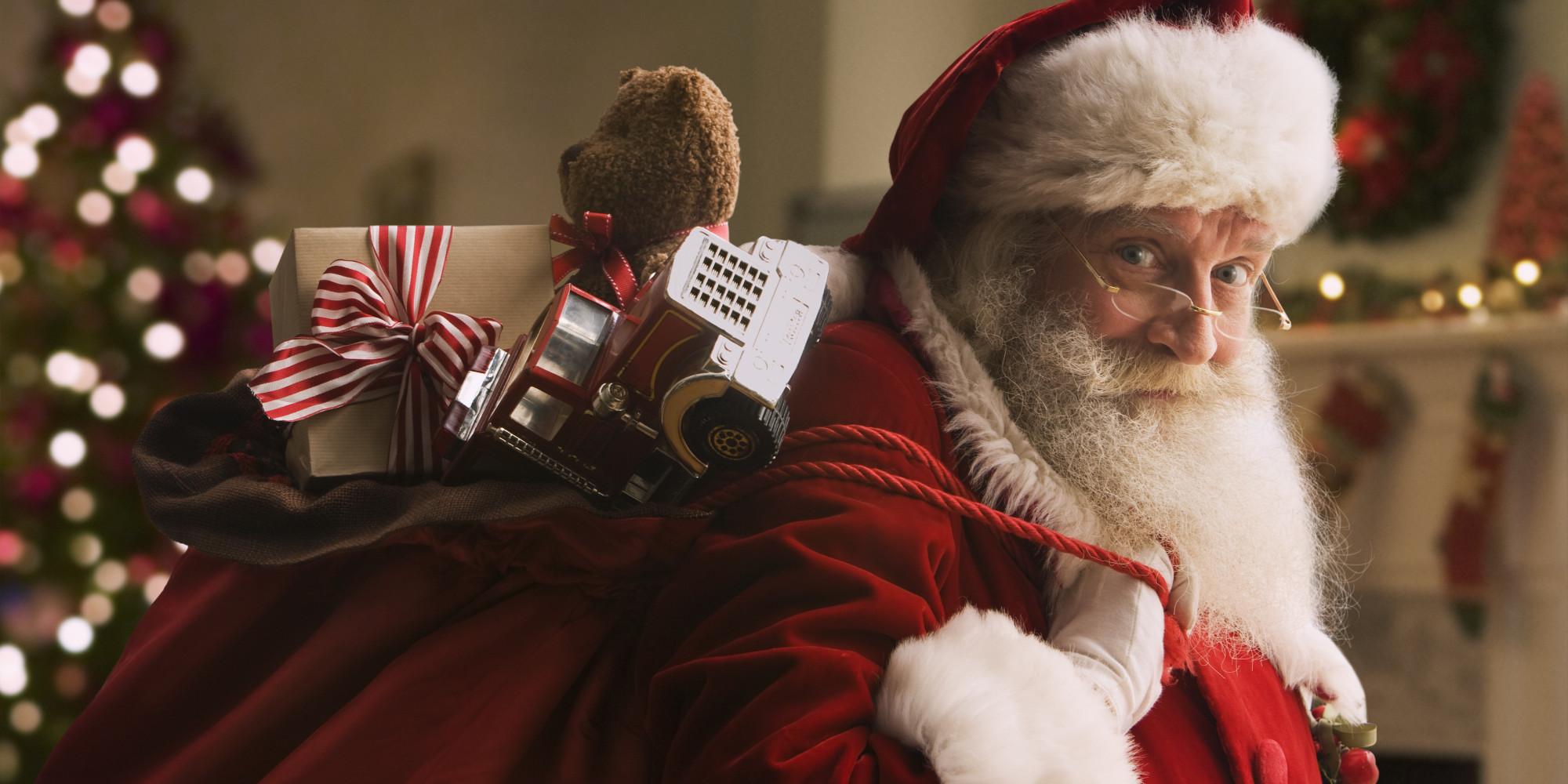 lighten bag - Santa Santa Claus