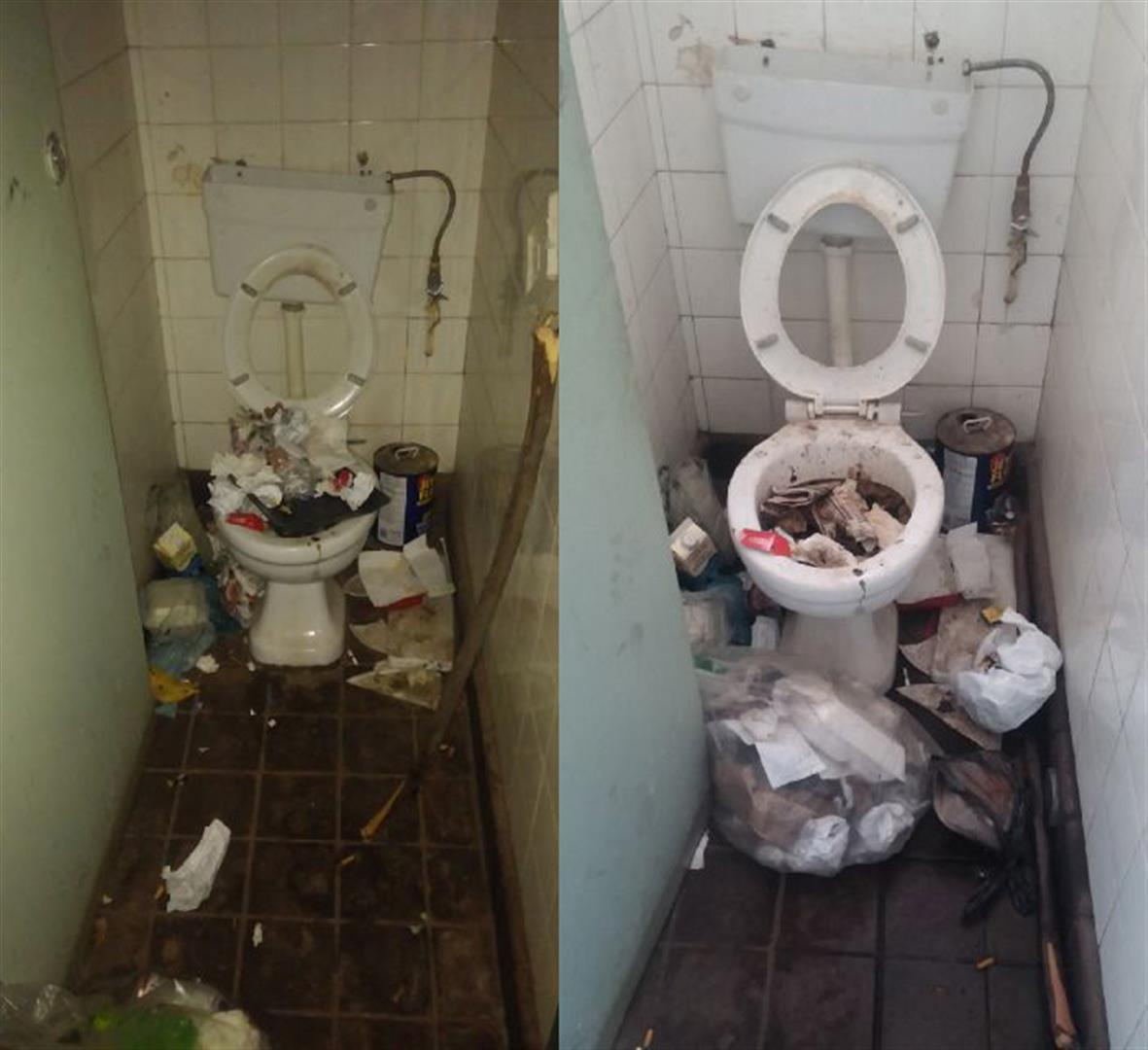 Update Disgraceful State Of Public Toilets At Police