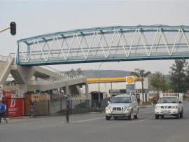 The Bridge over the N11 at Queen Street