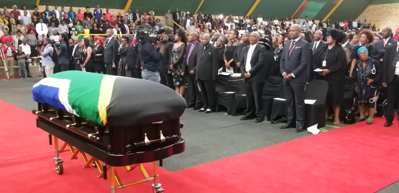 State funeral for Dr Joseph Shabalala is underway - Ladysmith Gazette