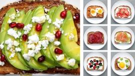 12 Energy-Boosting Breakfast Toasts