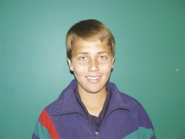 Cricketer, Arno Ferreira.