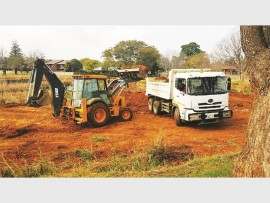 Last year the municipality assisted in the Paddadam Clean-up Campaign with the acting municipal manager, Bongiwe Mnikathi, providing a TLB and a 10 ton tipper truck.