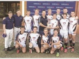 Hoërskool Pionier 7s twede span kampioene in die B-afdeling.