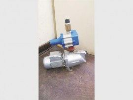 Mrs Prinsloo was fortunate to have had her stolen water pump recovered by police the very next day.
