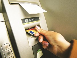 Police warn that a transaction slip dangling from the ATM could indicate that you are being targeted by criminals.