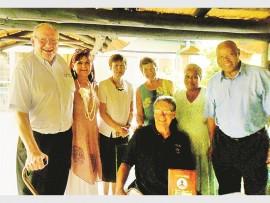 Toni Werndle, Sue Dewar, Bunny Cloete, Diane Heyns, Anna Mhlongo, Joseph Buthelezi, and seated Harry Heyns.