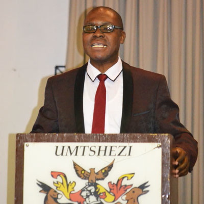 Municipal Electoral Officer Vusi Magubane.