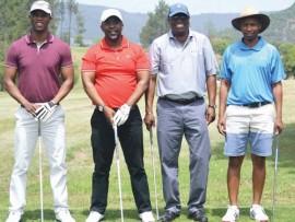 Des Bulose, Rob Nala, Phiwe Mabaso (sponsor) and Minenhle Mabaso.