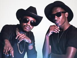 Blackbullet's duo, Eugene Magubane and Slindelo Dlamini.