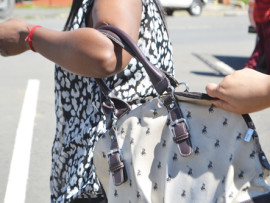 Be aware of bag snatching in the central business district.