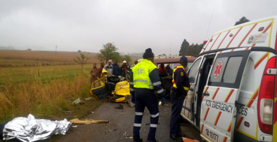 BREAKING NEWS: 1 dead, 3 injured in Wembezi Road crash
