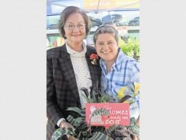 Aggie Meyer from Mokopane, is one of the gardeners sharing in Tanya Visser's (The Gardener / Die Tuinier magazine, editor) knowledge about gardening on Wednesday, July 29.