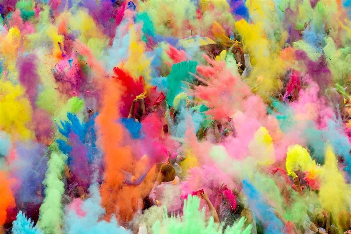 Image result for children colour run