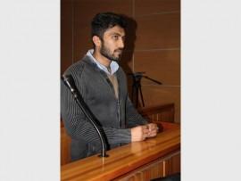 Murder accused Rameez Patel.