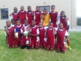 The proud u/13 Northern Academy soccer team. They recently won the u/13 Curro Soccer Championship in Pretoria. In front are Kgothatso Thaba, Kamogelo Matlapu, Matsobane Poto, Livhuwani Netshikule, Godfrey Moraba, Mogau Moloto, Peter Bapela and Fulufhelo Nelwamondo. At the back are Glen Malesa, Thuso Mogogodi, Thsepiso Maphanga, Itumeleng Mphahlele, Tebogo Moto, Sello Mogale and Jack Makutu. Photo: Supplied
