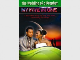 """Harry Lebelo and his wife Nkele Nkoana plan on raising awareness against the abuse of women, by getting married every year for the next five years and writing a book titled """"The wedding of a prophet, My five in one."""" Photo: Supplied"""