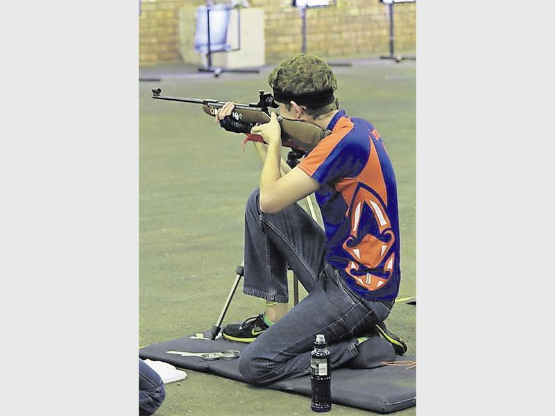 Adriaan Steyn in aksie gedurende 'n kompetisie verlede jaar. Foto: Annalize Steyn