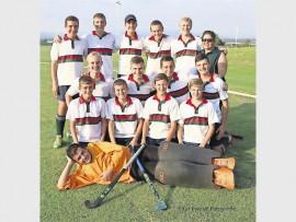 PHS se o/16A-seunshokkiespan spog as die Limpopo kampioene.