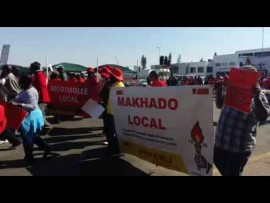 POPCRU march: 'police lives matter'
