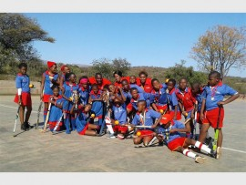 The skillful u/13 boys - and girls hockey team of Sunrise Primary School are crowned as the Limpopo Champions. Photo: Supplied