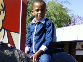 The bodies of Petrus Shoka (7) and his friend, Samuel Ngobeni (10) were found by a passer-by last week. Photo of Petrus Shoka. Photo: Supplied
