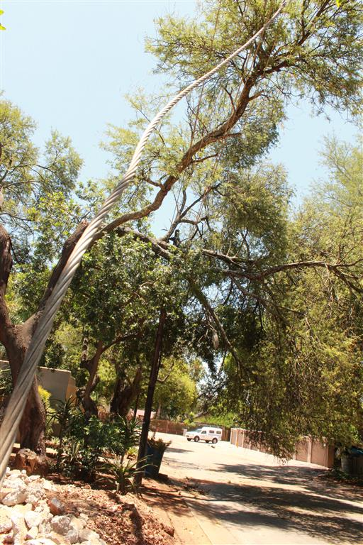 Residents in the Polokwane suburb of Welgelegen in General Smit Street, gave a sigh of relief at the sight of Municipal workers arriving to repair the damage yesterday afternoon's storm caused in various parts of the city.