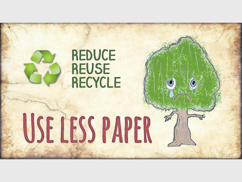 The Polokwane Municipality is urging residents to use less paper and look after trees while doing so as part of their Smart City Plan for 2030.