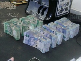 A large sum of money was recovered by SAPS following a robbery in Marble Hall.