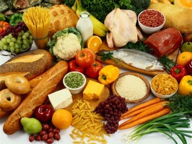 According to a local dietitian, a well-balanced diet involves eating healthy and regular exercise.