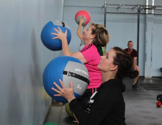 Wall Ball is one of the most difficult fitness exercises that makes use of almost all the muscles in the body to be done correctly.