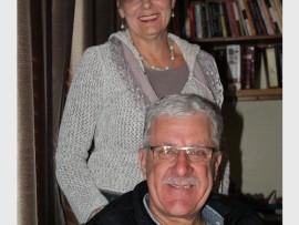 Ds. Tjaart Meyer en sy vrou, Ilze.
