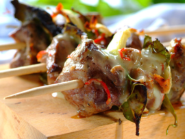Treat yourself to these scrumptious Greek Lamb Kebabs.