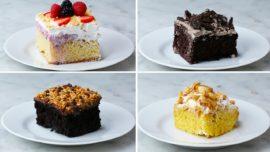 4 different ways to make poke cake