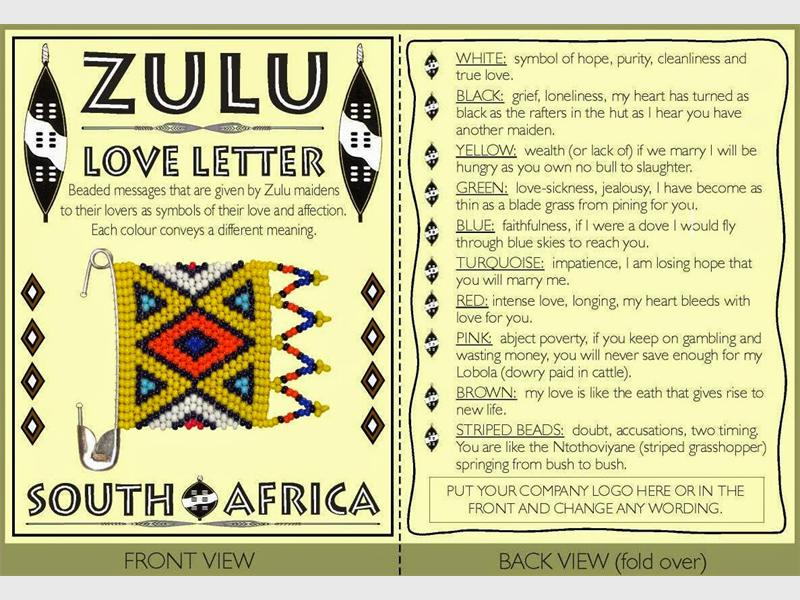 Ndebele Love Letter