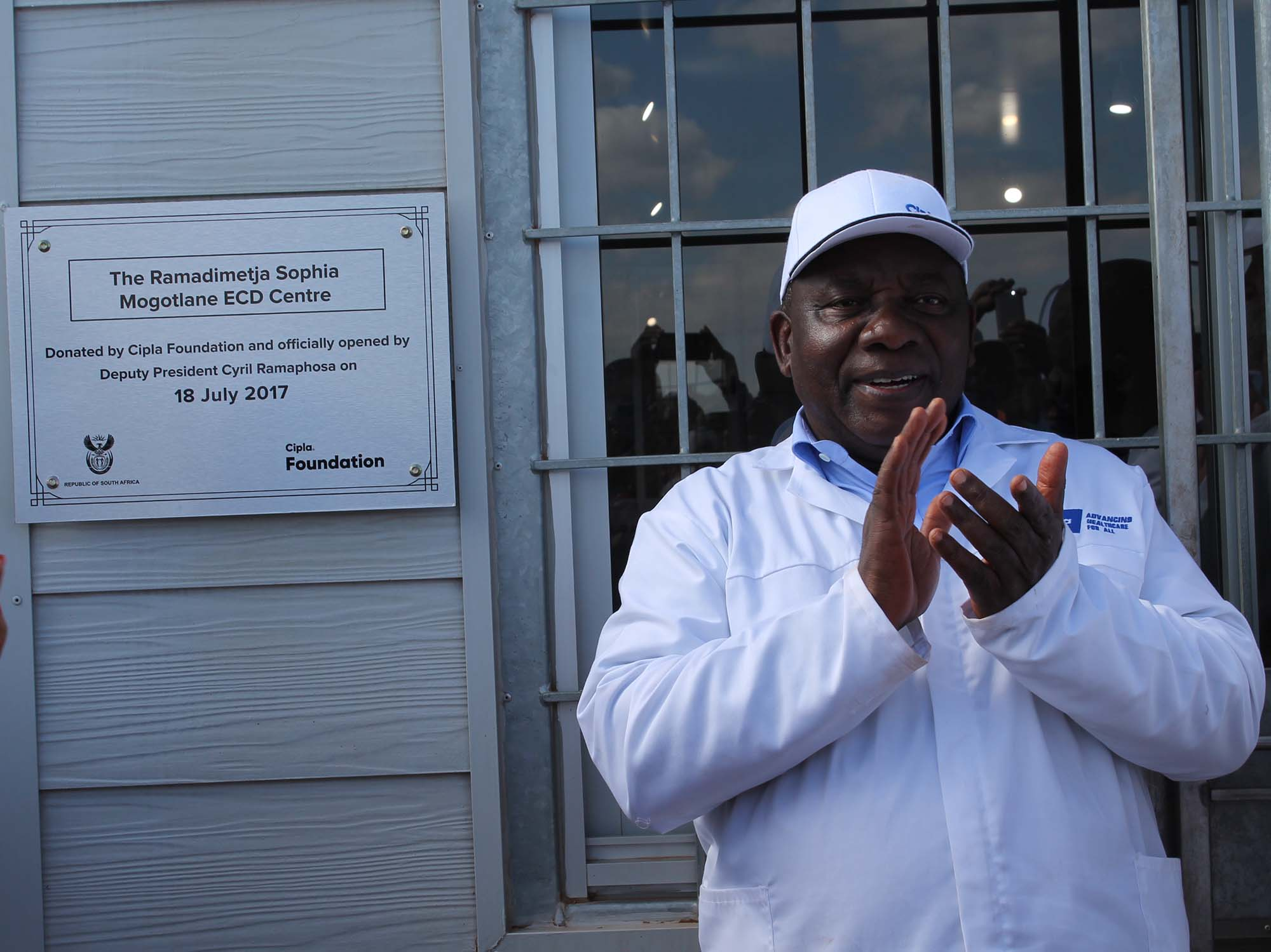 Cyril Ramaphosa Devotes His 67minutes For Madiba To The Children Of