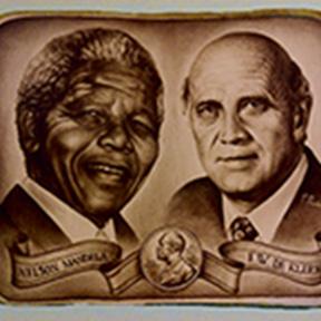 Mandela en de klerk