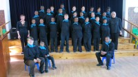 The Casa do Sol school choir.