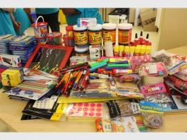 Fairland Wesbank sent their Wesbank operations volunteers to handover all new school supplies.