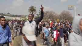 A cleaner at Wits University has died following a#FeesMustFall protest.