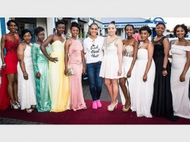 Westbury High School pupils attend their matric dance made possible by the Cinderella Campaign. Photo: Zoe Rademeyer.