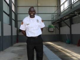 RS44NZstationWEB-Johannesburg-Emergency-Management-Services-spokesperson-Robert-Mulaudzi-in-the-washing-bay.