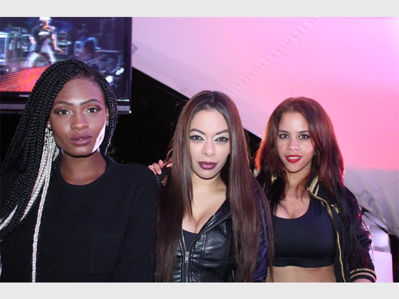 Thuto Mokgwabone, Thapelo Motsumi, Tebogo Mokone and Tsholofelo Rangaka perform at Maftown Heights for the first time.